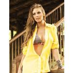 Dámská volná košile PHAX Coverups žlutá