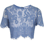 Topshop **Sheer Lace Crop Top by Glamorous