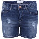 Modré džínové kraťasy Vero Moda Brix