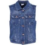 Modrá džínová vesta Vero Moda Nice