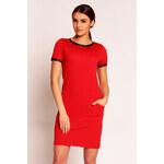 Červené šaty H35 XL
