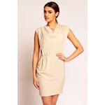 Béžové šaty H40 S