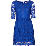 Topshop **Crochet 3/4 Sleeve Dress by Oh My Love
