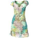LINEA TESINI návrhářské letní šaty, šifonové barevné šaty (sklad v.34,38,42)