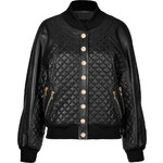 Balmain Quilted Leather Blouson Jacket