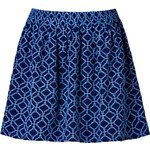 Vanessa Bruno Athé Silk Print Circle Skirt