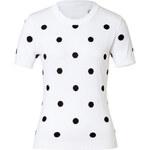 Moschino Cheap and Chic Knit Polka Dot Top