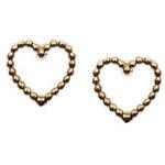Topshop **Kleine Herzohrstecker von Orelia - Gold