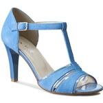 Sandály ANN MEX - 6669 05LN+05W Niebieski Jasny
