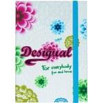 Desigual zápisník A6 Notebook White