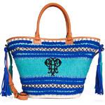 Emilio Pucci Canvas-Shopper mit Web-Details