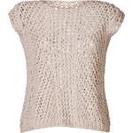 Iris von Arnim Open Knit Top