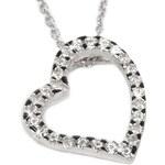 Beneto Krásný náhrdelník se srdíčkem AGS89/45