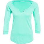 Terranova Grandad collar t-shirt with 3/4 sleeves