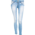 Terranova Light stretch jeans with ankle zip