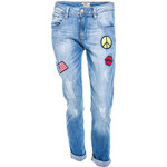 Terranova Patchwork stretch jeans