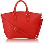 LS Fashion Kabelka L&S fashion LS0085A červená
