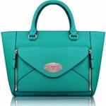 Kabelka LS Fashion LS0014 smaragdová