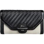 Guess Elegantní peněženka Annalynne Slim Clutch Black