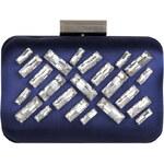 Venca Elegantní kabelka s bižuterií tmavě modrá