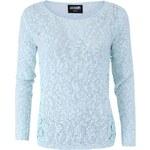 Mentolový dámský pletený svetr Haily´s Cady