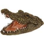 Dekorativní krokodýlí hlava do jezírka