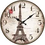Nástěnné hodiny Eiffelova věž
