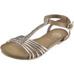 Zlaté sandálky GIOSEPPO Blake 27531