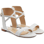 Paul Andrew Python Leather Sandals