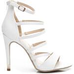 KOI Vysoké bílé dámské sandály - EDA2WLI / S2-64P