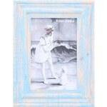 Modrý retro rámeček na fotky Sass & Belle
