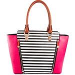 Kabelka New Look multi-color pink black