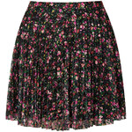 Topshop Mini Floral Lace Pleat Skirt