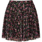 Topshop Mini Floral Lace Pleat Skirt
