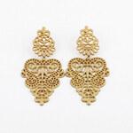 Lesara Ohrringe im orientalischen Stil