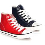 Lesara Damen-High-Sneaker - Rot - 36