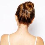 Lesara Haarkette mit Zierperlen
