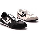 Lesara Low-Top-Sneaker Classic - Weiß - 40