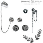 Lesara Spinning Jewelry® Ohrstecker I - Ohrring 4