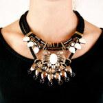 Lesara Statement-Halskette mit Kordel