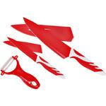 Lesara 2-teiliges Messerset mit Sparschäler