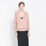 Lesara Damen-Cardigan mit V-Ausschnitt - Pink - S