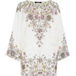 Roberto Cavalli Embellished Silk Tunic