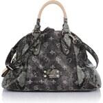 Guess Finley Dome Satchel Denim Bag