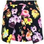 QUIZ LONDON Kvetinová kalhotová sukně
