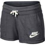 Nike Bavlněné krátké šortky šedá XS