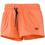 adidas Pohodlné oranžové šortky oranžová