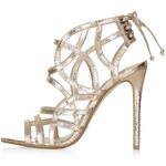 Topshop RESORT Metallic Sandals