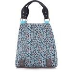 Tyrkysovo-šedá vzorovaná taška / batoh Skunkfunk Baells