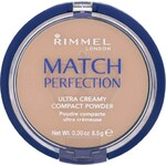 Rimmel Sametový kompaktní pudr Match Perfection 8,5 g 103 True Ivory